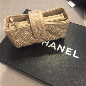 NEW NWT CHANEL Gold Coin Purse Authentic $2800